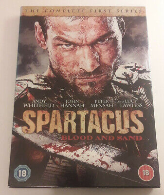 Spartacus Blood & Sand, Starz TV Series 2012 4-Disc DVD Starring Andy Whitfield • 1.50£