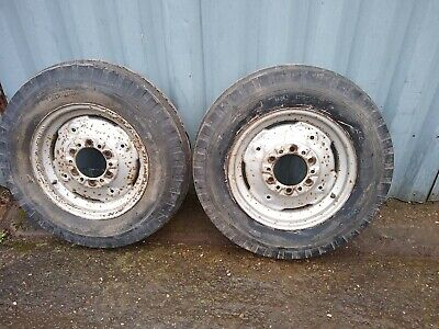 Massey Ferguson Tractor Front Wheels And Tyres Original 600 X 16 35 135 • 90£