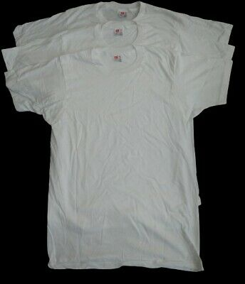 $ CDN52.12 • Buy Vintage HANES Plain White Single Stitch T-Shirt Size Medium USA Made!!! Lot Of 3
