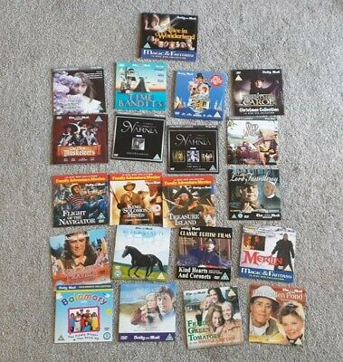 Daily Mail DVD's Children's / Family Films & Movies Job Lot / Bundle (21 DVD's) • 5£