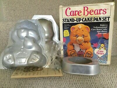 Rare/vintage Wilton Care Bears 3D Cake Tin • 19.99£