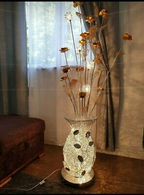 Lesser Pavey Tall Flower Floor Lamp • 75£