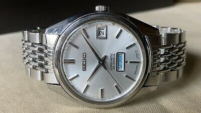 $ CDN115.20 • Buy Vintage SEIKO Automatic Watch/ LORD MATIC LM 5606-7060 23J SS 1968 Original Band