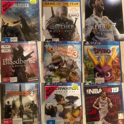 AU17.07 • Buy PS4 Sony PlayStation 4 Video Games Excellent Condition *Free Postage*