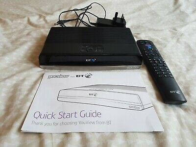 BT YOUVIEW HUMAX DTR-T2100 500GB Recorder Box Twin HD Freeview +  • 9.50£