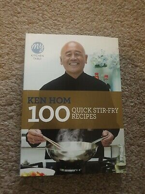 My Kitchen Table: 100 Quick Stir-fry Recipes By Ken Hom (Paperback, 2011) • 4£