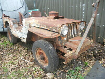 1953 Willys Jeep CJ3B  US Import Classic Jeep  For Restoration Or Parts  • 4,000£