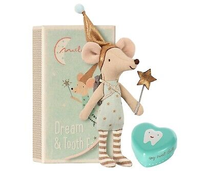 Maileg Tooth Fairy Mouse In Matchbox, Big Brother, Brand New • 21.50£