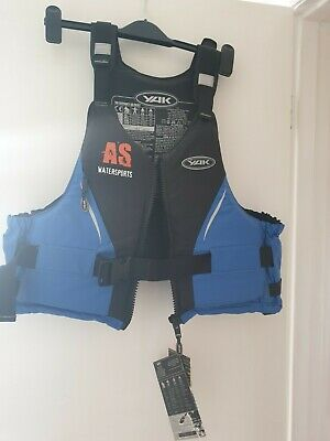 YAK 50N Buoyancy Aid / PFD Medium / Large Blue / Black *NEW* • 45£