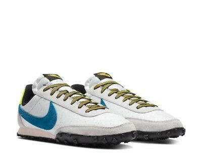 Nike Waffle Racer Summit Off White Blue UK 11 US 12 Air Force 1 Cortez Tailwind • 79.95£