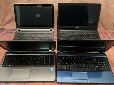 $ CDN1084.45 • Buy Lot Of 4 Laptops - Excellent Condition - HP & DELL - Ready For Immediate Use