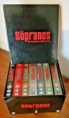 The Sopranos Complete 28 DVD Boxed Set  • 12£