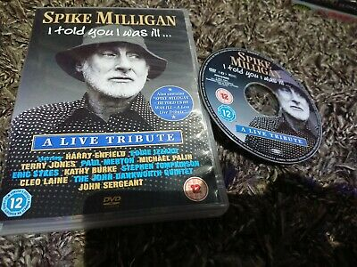 £2.95 • Buy Spike Milligan - I Told You I Was Ill (DVD, 2005) A Live Tribute