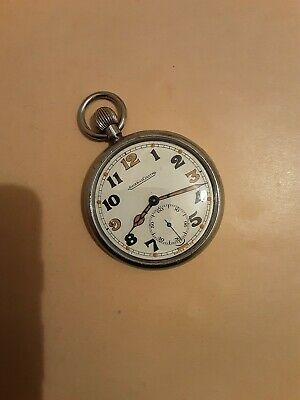 Jaeger-leCoultre WW2 Military GSTP Pocket Watch In Working Order, Superb Example • 81£