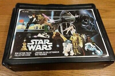 $ CDN499 • Buy Star Wars Vintage Carry Case And 21 Action Figures