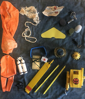 $ CDN91.45 • Buy Vintage GI Joe 60s 70's Huge Accessories Lot Weapons Tools & Clothes Outfits #2