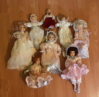 $ CDN44.18 • Buy Porcelain Baby Doll Lot 8 Small