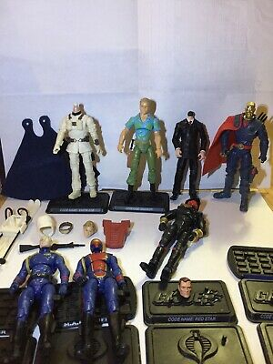 $ CDN4.91 • Buy GI Joe Custom Fodder Parts Chuckles Destro V19 SDCC Commander V33a