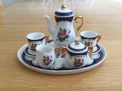 Regal Bone China Collection Chloé Minature Tea Service • 6.50£