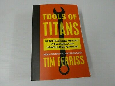 AU25.95 • Buy Tools Of Titans: The Tactics, Routines, And Habits Of Billionaires, BL6