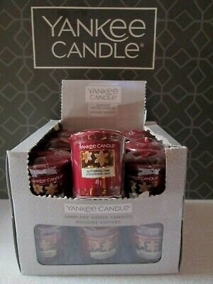 GLITTERING STAR Yankee Candle Box 18 Votive Samplers. • 18.99£