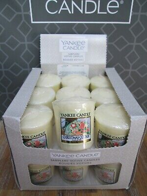 Yankee Candle Box 18 CHRISTMAS COOKIE Votive Samplers. • 18.99£