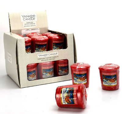 Yankee Candle CHRISTMAS EVE Box 18 Votive Samplers. Retired Scent. • 24.79£