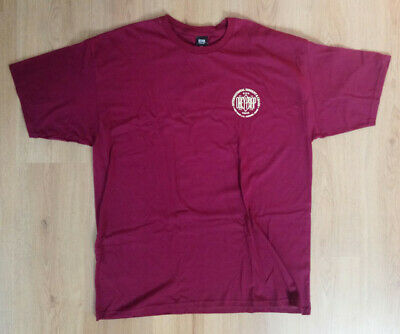 OBEY CLOTHING Obey Prop | Rise Above Men's T-Shirt (Wine) [XXL] NWOT • 15£