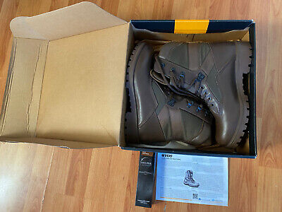 Military/Police/Cadets. YDS Brown Kestrel Patrol/Combat Boots SIZE  10 • 25£