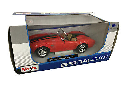 Maisto 1/24 1965 Shelby Cobra 427 Special Edition • 9.99£