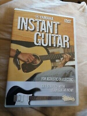Yamaha Instant Guitar For Acoustic Or Electric DVD New But Not Sealed • 5£