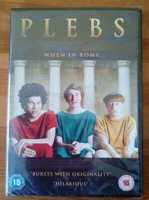 Brand New And Sealed Plebs When In Rome DVD Series 1 • 1£