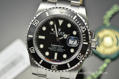 $ CDN19636.49 • Buy NEW Rolex Ceramic Date Submariner Steel 40MM Automatic Watch 116610 All Stickers