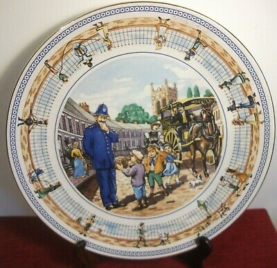 Ringtons Street Games Limited Edition Decorative Plate By Wade Ceramics • 9.95£
