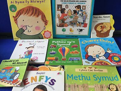 Toddlers Welsh Language Books Bundle X 9 • 4.50£