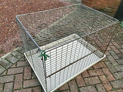 Puppy / Kitten Pen / Small Animal Cage & Base BUYER COLLECT TW15 Area. • 12.50£