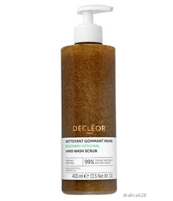 Decleor Rosemary Officinalis Daily Hand Wash Scrub 400ml 99% Natural Soap • 27.98£