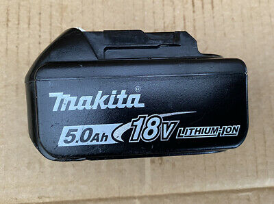 Original Makita BL1850B Battery 5.0Ah 18v - Fast Charge & Hold Charge Great • 54.50£