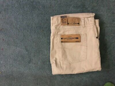 "Lee Cooper FamousBasic Men's Jeans Colour Light Sand Size Waist 40"" Length 32"" • 7.50£"