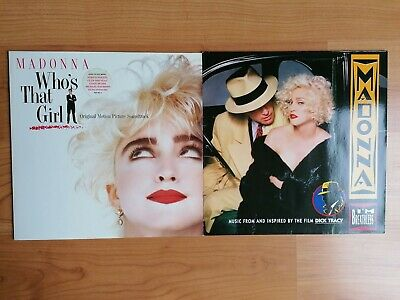 Madonna Who's That Girl & I'm Breathless 2x 12  LP • 9.99£