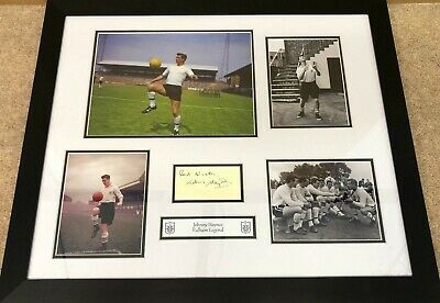 Fulham Signed Johnny Haynes • 84.99£