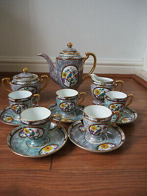 Noritake Coffee Tea Set • 250£