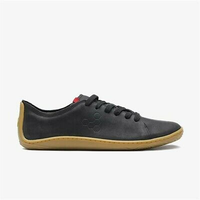 Vivobarefoot Addis Leather Lace-Up Low-Top Mens Trainers Sneakers EU 44 UK 10 • 75£