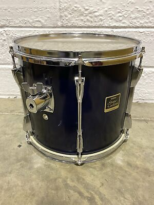 """Yamaha Stage Custom Rack Purple Tom Drum Shell 13""""x 11""""/ Complete With Mount • 42.99£"""