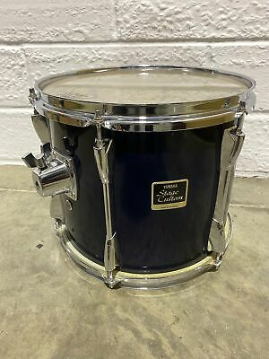"""Yamaha Stage Custom Rack Purple Tom Drum Shell 12""""x 10""""/ Complete With Mount • 44.99£"""