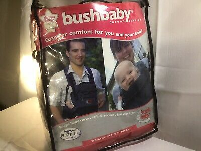 £22.95 • Buy Bush Baby Cocoon Front Baby Carrier Blue Harness, 0 - 9 Months , 3.5 - 9kg , New
