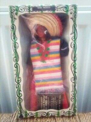 Vintage Rexard Miss Mexico Boxed Costume Doll • 9.99£
