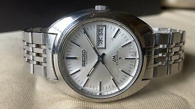 $ CDN40.41 • Buy Vintage SEIKO Automatic Watch/ LORD MATIC LM 5606-7150 23J SS 1972 Original Band