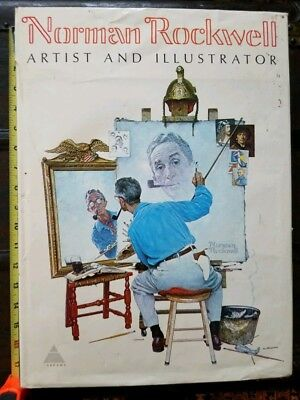 $ CDN32.66 • Buy Norman Rockwell Artist And Illustrator 1st Edition 1970 Book, By Abrams, 11 Lbs