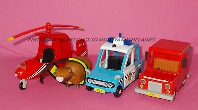 Postman Pat Sds Talking Musical Van Helicopter Daisy Cow Pc Selby Police Car • 25£